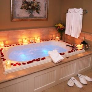 Romantikus ötletek - ellazulás az illatos fürdőben